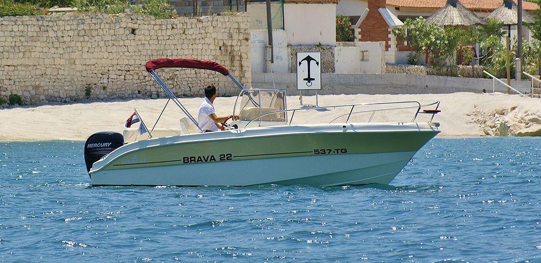 MINGOLLA Brava 22 - Argola Charter